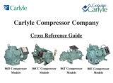 compressori di 06dr725 Carlyle (elemento portante) (6.5HP) per il condizionamento d'aria di temperatura insufficiente