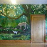 Selbstklebende schöne Wand-Wandbild-Tapeten