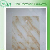 Hoja del Formica/Colo de madera laminado decorativo HPL