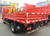 2 tonnes en 4X2 Petite Grue camion 2 T avec grue Sinotruk monté