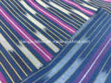 면 공간에 의하여 염색되는 줄무늬 스판덱스 직물 Lz8554