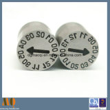 Perni della data degli inserti della data delle parti della muffa di precisione per la muffa di plastica (MQ924)