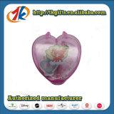 Выдвиженческие тетрадь и пер Stationey милые с пластичной коробкой сердца