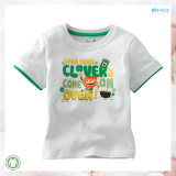 Gots Baby-Kleid-neues Art-Baby-T-Shirt