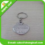 金属KeychainはStainessの鋼鉄によって印刷されるロゴを連鎖する