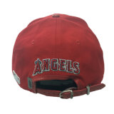 El algodón moda PU Gorra de cuero bordados personalizados de Red Hat