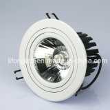 Diodo emissor de luz Downlight da ESPIGA do entalhe 25W do diodo emissor de luz CRI90 140mm do poder superior