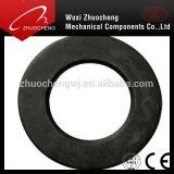 Rondelle noire lourde du teflon F436