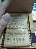 未加工未加工Kingsize細く自然な麻のゴムのSmokのロール用紙