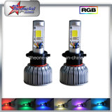 Il singolo fascio il RGB Bluetooth 9005 di qualità eccellente 9006 H7 automobile LED illumina il faro dell'automobile del LED