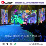 Visualización de pantalla a todo color de interior del alquiler LED para la demostración, etapa, conferencia