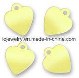 Silberne ovale Marke für kundenspezifischen Firmenzeichen-Stich