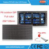 P8 de cor total imersão Display LED fixo exterior para publicidade em Outdoor