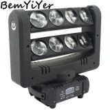 Mh8c/ 8X10W Aranha LED/Luz de movimentação de feixe quad-RGBW/Crazy 8/Dual Bar/DJ Mostra/fase móvel