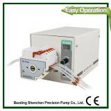 Bomba peristáltica de bateria de fluido de célula de laboratório