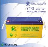 Sellado de mantenimiento gratuito de ciclo profundo 12V 150Ah batería de almacenamiento de gel