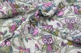 Form-Drucken-Eulen-Muster-Schal, Frauen-Polyester-Schal, Form-Zusatzgerät