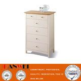 Mobília de madeira em madeira branca - armário de madeira