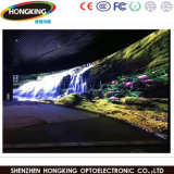 Alta tablilla de anuncios a todo color de interior de LED de la definición P3