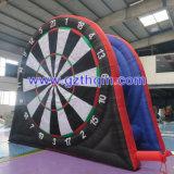 Kinder verwenden aufblasbaren Fuss-Pfeil-Spiel-Bogenschießen-Pfeil für das aufblasbare Sport-Spiel