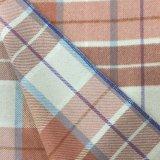 Sobretodo caliente de la tela de las lanas de la verificación de los colores
