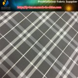 Fio cinzento/branco tela tingida no calendário tecido poliéster para o vestuário (YD1034)