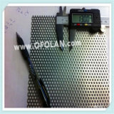 Rectangle maillage Perforation titane