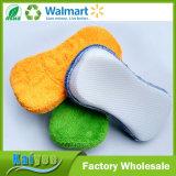 Esponja nova quente da limpeza da celulose dos produtos de limpeza da cozinha
