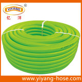 Boyau de jardin vert de PVC