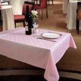Tablecloth quadrado impresso profissional da linha aérea do poliéster