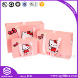 물색 포장 복장 아기 의류 선물 종이 봉지
