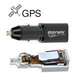 Mechero de coche Mini USB cargador de carga con funciones de GPS en tiempo real del dispositivo Navigationtracker