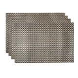 Klassieke 8X8 pvc Geweven Placemat voor Tafelblad & Bevloering