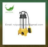 Bomba submergível da água de esgoto do aço inoxidável de fase monofásica 1.1kw 1.5HP para a agua potável