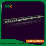 La barre simple 240W d'éclairage LED de rangée imperméabilisent la barre lumineuse superbe d'éclairages LED de lumen élevé pour piloter tous terrains
