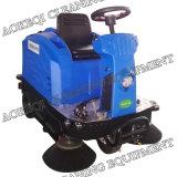床の掃除人機械の細い道の掃除人の乗車