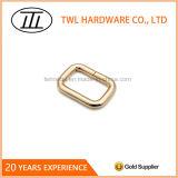 Curvatura da cinta do anel do quadrado do ferro do fio de metal para sacos