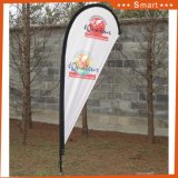 Promotion Chine Annoncez Trade Show Feather Teardrop Cheap Portable Beach Banner