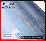 100%Cotton完全な粗紡糸および十字の粗紡糸のデニムファブリック