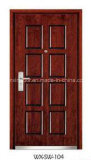 Portello di legno esterno dell'acciaio di alta qualità (WX-SW-101)