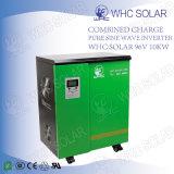 Inversor solar de baja frecuencia auto inteligente de la onda de seno 10kw