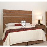 Insieme cinese della mobilia della camera da letto dell'hotel ricoperto con il tessuto di qualità