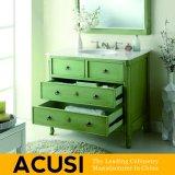 Amerikanische einfache Art-festes Holz-Badezimmer-Großhandelseitelkeit (ACS1-W37)