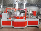 Máquina de bobinado de tubo de papel de 4 cabezales de tamaño medio