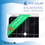 アフリカのホーム照明屋内30V 250Wのためのモノラル太陽電池パネル
