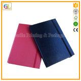 Изготовленный на заказ тетрадь дневника бумаги книга в твердой обложке PU кожаный