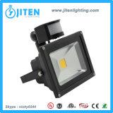 30W PIR LED Beleuchtung-Flut-Licht des Flut-Licht-10-50W LED mit Fühler