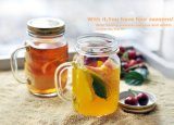 12oz 16oz de Kruik van de Metselaar van het Glas met Handvat en Stro