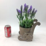 As melhores plantas Succulent de venda da alfazema cerâmica artificial Potted