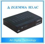 멕시코 Cannda 미국 텔레비젼 암호해독기를 위한 신제품 ATSC + IPTV Zgemma H3를 가진 DVB S2. AC